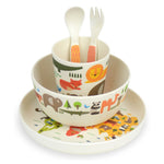 World Bamboo Dinnerware Set