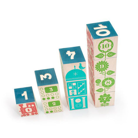 Count & Stack Blocks