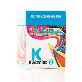 Kwizniac 2 The Trivia Count Down Game