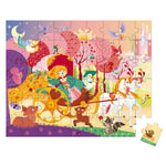 Hat Boxed Puzzle Princess & Coach 54 Pieces