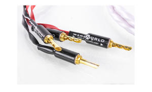 wireworld cables, wireworld solstice speaker cable, WIREWORLD speaker cables, best speaker cable, affordable speaker cables, best cables for hifi speakers, solstice 8
