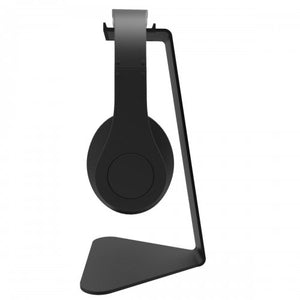 Kanto headphones Stands, H1 kanto stands, headphone stands, headphones accessories, headphones montreal, desktop stands, black stands, speakers stands montreal, Art and Sound Montreal, Art et Son, headphones Montreal