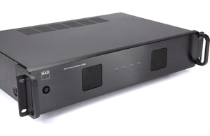 power amplifier, black, side view, power, amplifier, multi channel, Art et Son, Montreal