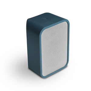 Protective skin, deep blue, blue, flex, audio, speaker, decorative, colours, bluesound, art et son, montreal