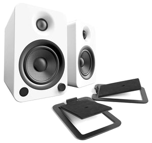 Kanto Speaker Stands S4, Kanto Powered Speakers, speakers for turntable, Kanto S4 Stands, stands for bookshelf speakers, kanto speakers montreal, angled speaker stands