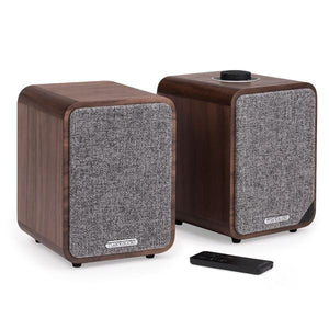 Ruark MR1 MK2 high fidelity wireless desktop speaker, bluetooth speakers, bluetooth desktop speakers, ruark audio north america, ruark audio USA, ruark audio CANADA, RUARK Audio MR1 MK2 walnut