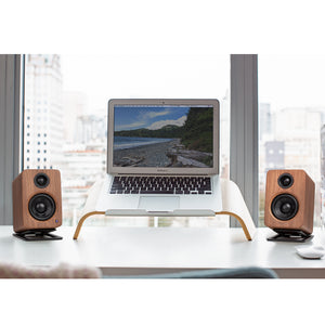 Kanto Speakers YU2, Kanto Powered Speakers, desktop speakers, Kanto Powered speaker YU2, bluetooth stereo speakers, Speakers YU2, kanto speakers montreal, all in one speakers, best desktop speakers, Kanto YU2 speakers review