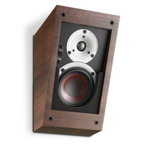 Dali speaker, on-wall speaker, walnut speaker, dali electronics, Art et son, Montreal, Art et Son Speakers