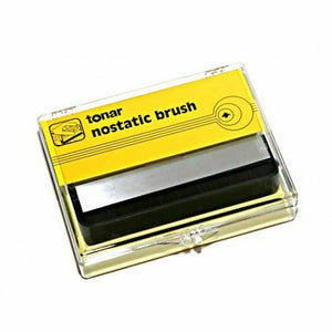 Tonar nostatic record brush, record brush, tonar brushes, turntables record brushes