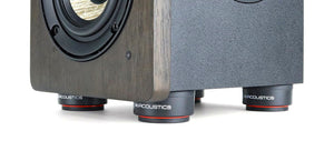 isoacoustics, sound isolation, decouplage, sound decoupling, hifi store montreal, audio store,