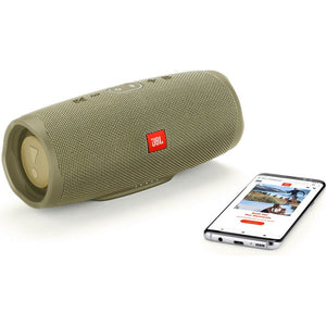 JBL Bluetooth Speaker Charge 4 , JBL Bluetooth Speaker JBL, Bluetooth speakers, portable speakers, waterproof speakers, best portable speakers, christmas gift ideas, speakers gift ideas, JBL Charge 4, good party speakers, JBL Charge 4 desert sand