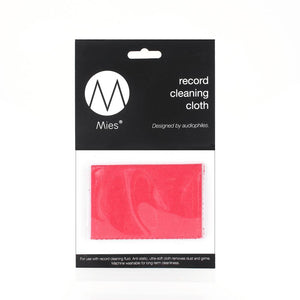Mies Record Cleaning Cloth, vinyl cleaning cloth, record cleaning cloth, how to clean vinyl