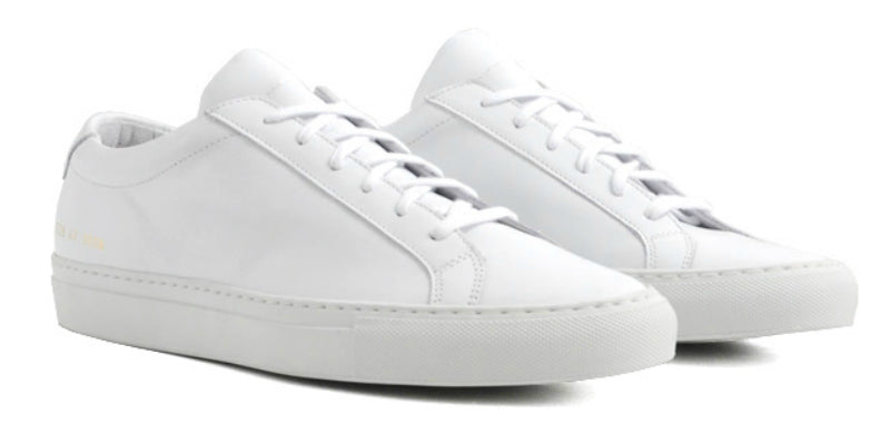 Simple White Trainers