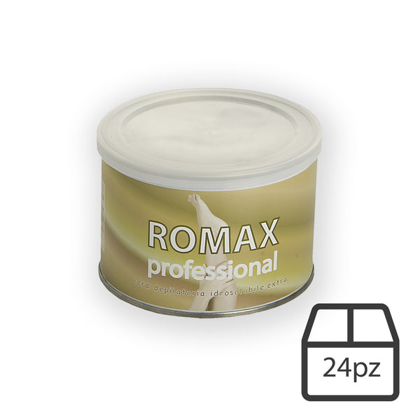 Cera depilatoria idrosolubile miele ROMAX 400 ML - 24pz