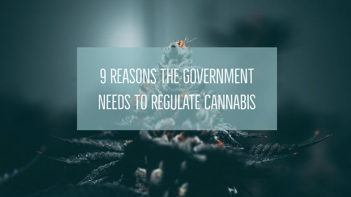 9 Reasons the Government Needs to Regulate Cannabis