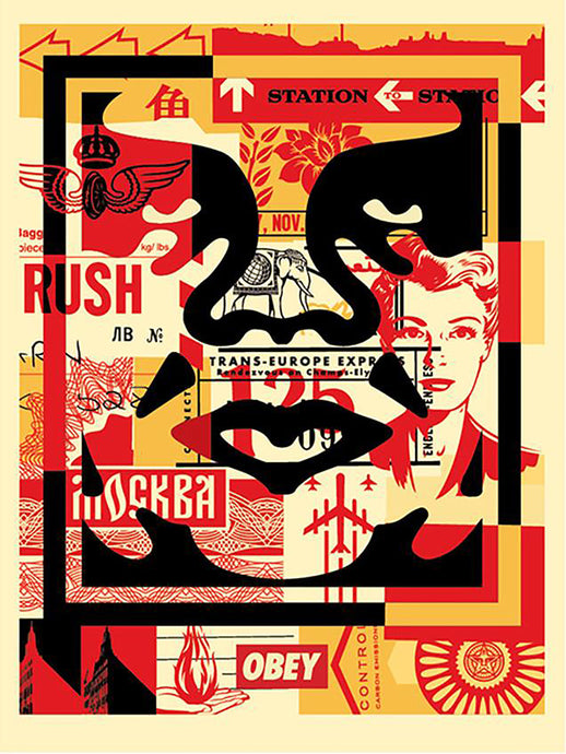 Shepard Fairey - OBEY Collection Set of Prints
