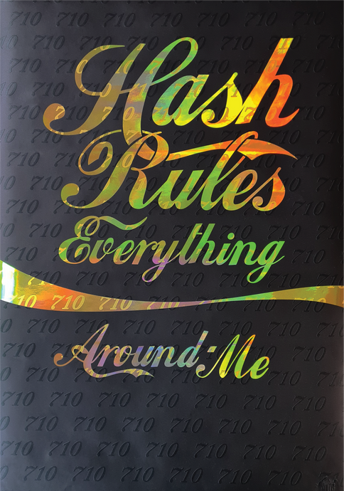 Print Club BCN - Hash Rules Everything Around Me