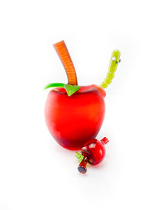 Pouch Glass - Red Apple