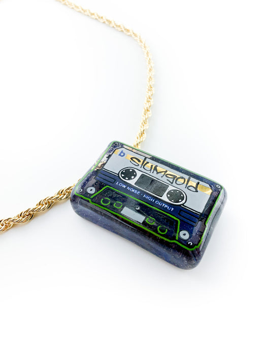 Slum Gold - Mix Tape Pendant - Hood Rich Mega Mix