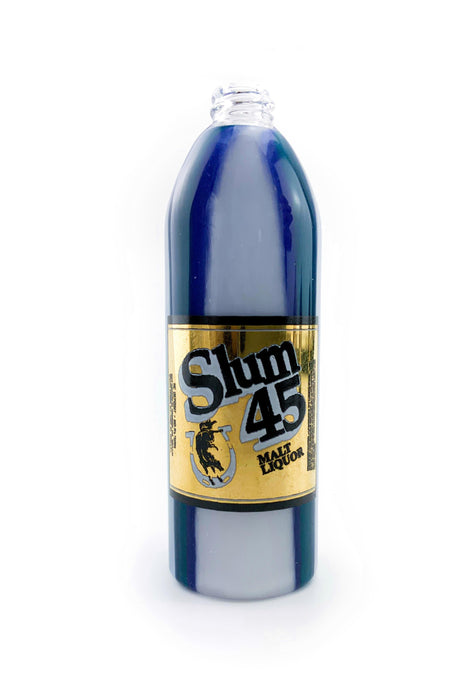Slum Gold - Carb Cap - Swirls Blue