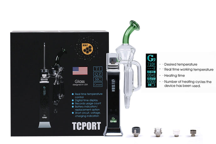 Greenlightvapes - Vaporizador Portable - G9 TC Port