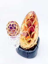 Whitney Harmon Glass X Tags Glass - Carved Dragon Egg - Gold