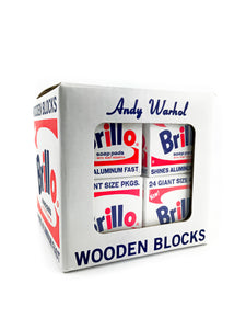Andy Warhol Brillo Wooden Blocks