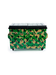 Dab Dumpster - LV Military Green