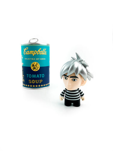 Kidrobot Andy Warhol Campbell's Soup Can Mystery Collectible Art Series - Vynil Andy