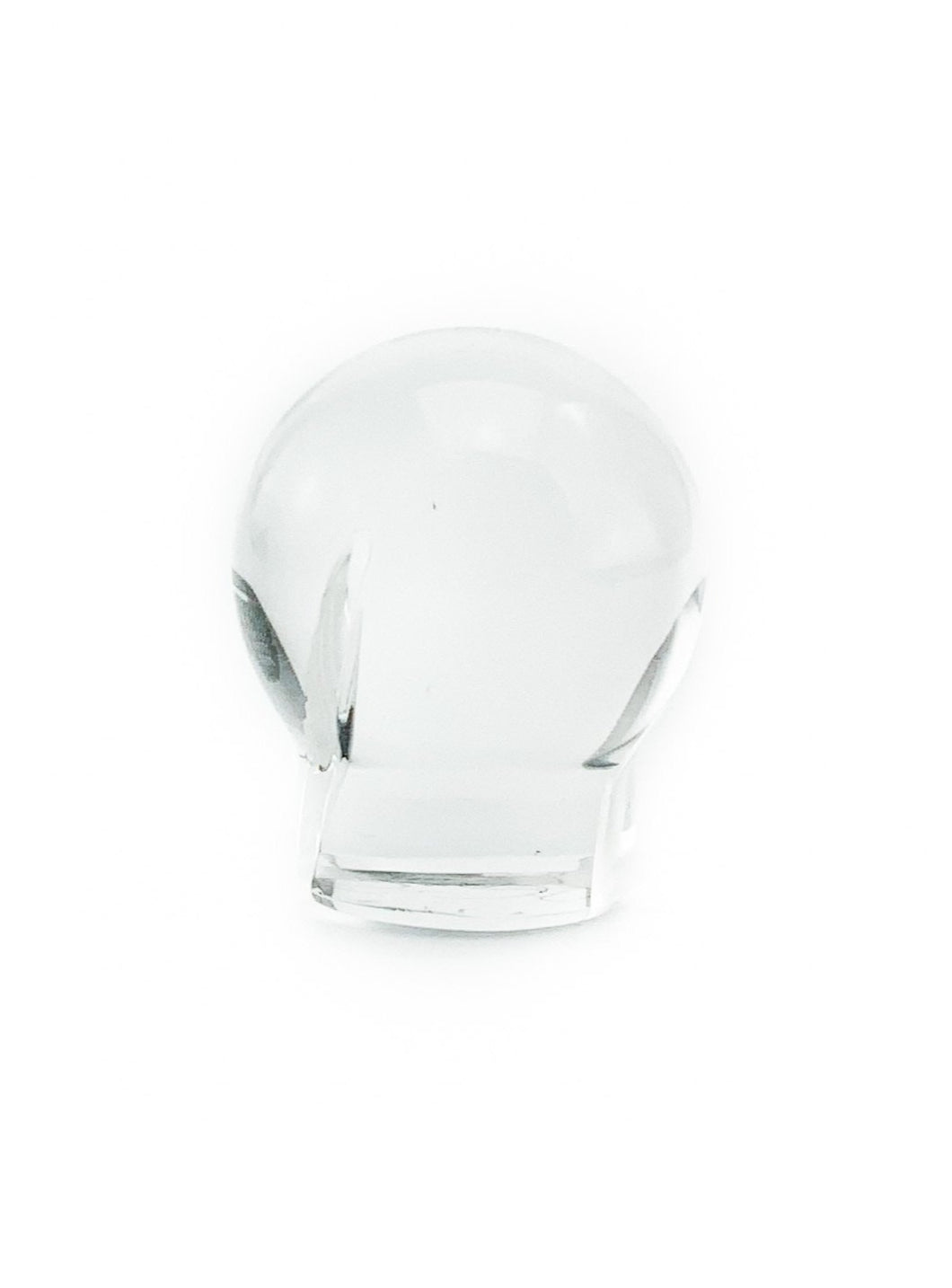 OTP Glass - Spinner Cap Clear