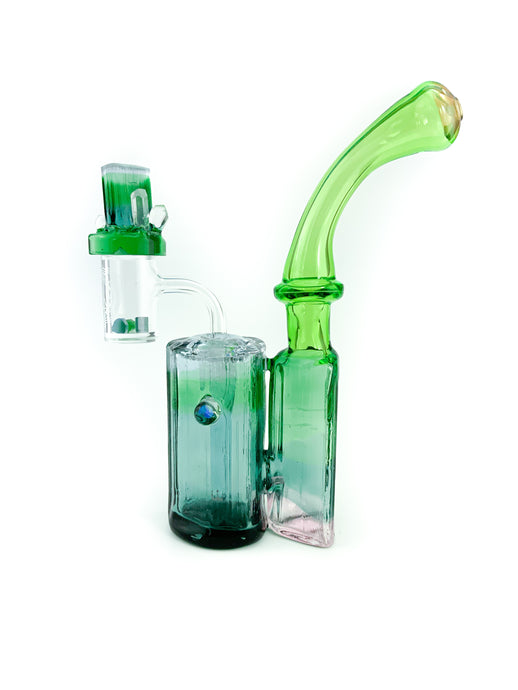 Digger Glass x Randall - Double Bubbler Rig