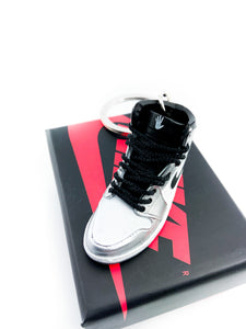 Mini Kawhi Leonard's Nike Air Jordan 1 Retro High Replica Keychain
