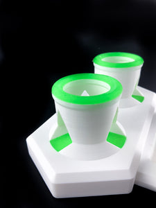 Glob Mob - Mini Combo Station  - White/Green