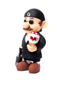 "Fools Paradise Mario ""Super Professional"" Tmall Edition Collectibles Toy"