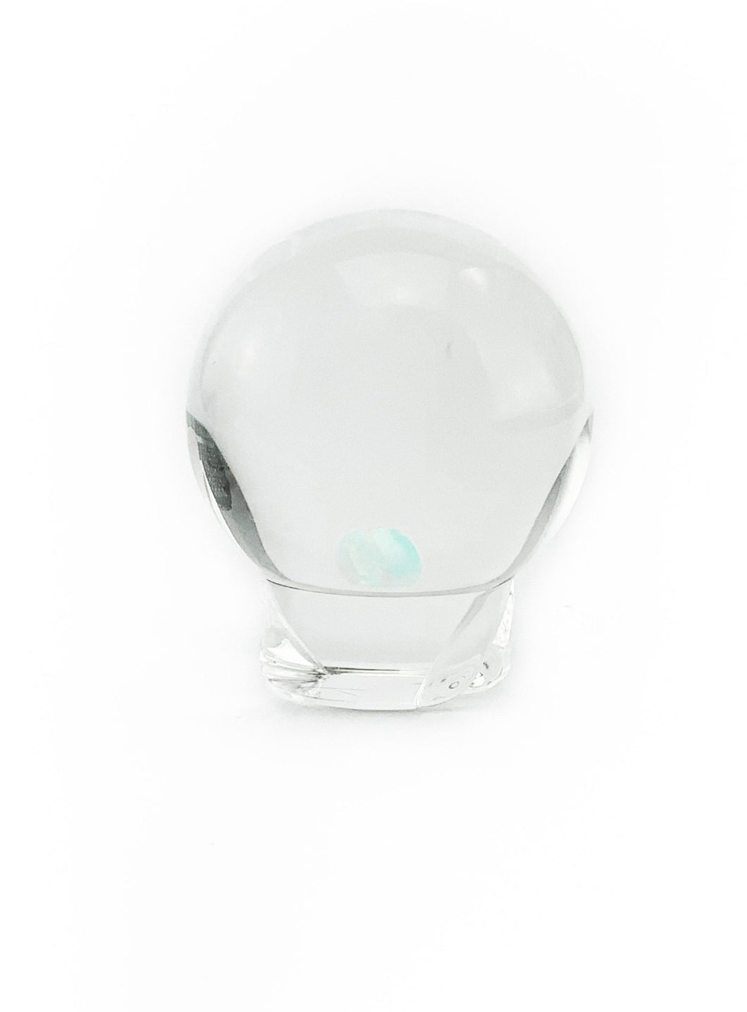 OTP Glass - Spinner Cap Clear Opal