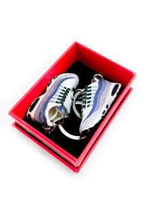 Mini Nike Air Max 95 Essential Purple Replica Keychain