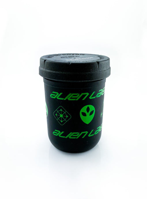 Re:stash 8oz Jar Alien Labs Green