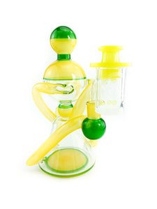Charli Glass x Flex Glass - Recycler Yellow Creen Clear