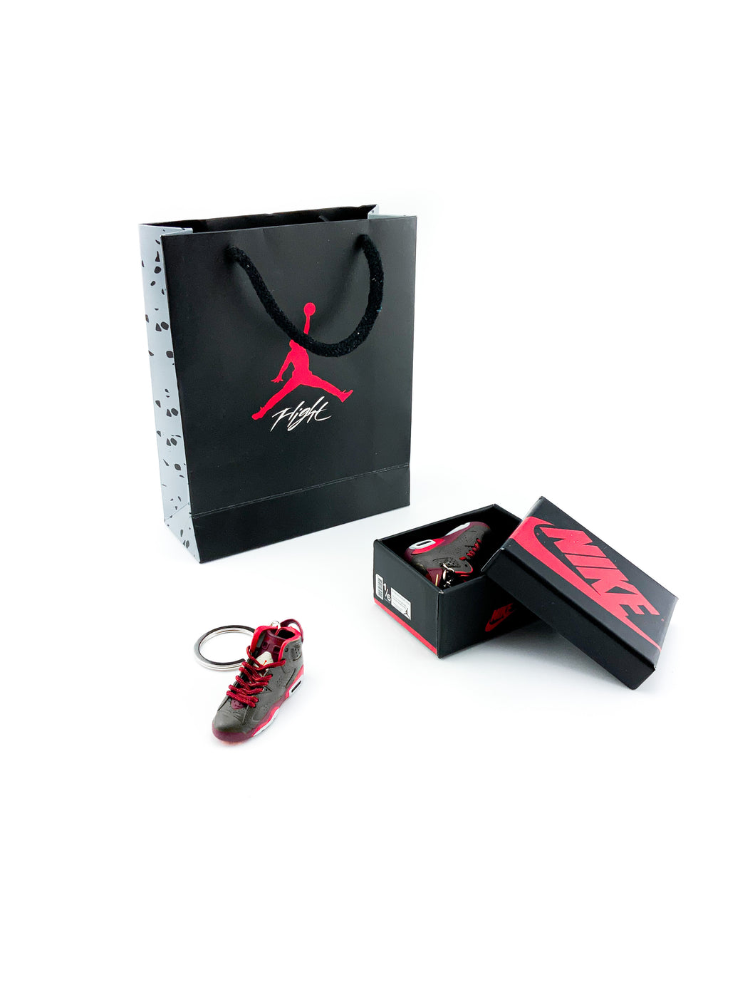 Mini Air Jordan 6 (VI) Retro 'Cigar' Replica Keychain