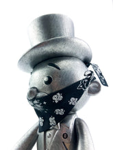 BAIT x Monopoly x Switch Collectibles Mr Pennybags 7 Inch Vinyl Figure - Silver Edition (Silver)
