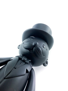 BAIT x Monopoly x Switch Collectibles Mr Pennybags 7 Inch Vinyl Figure - Black Edition (Black)