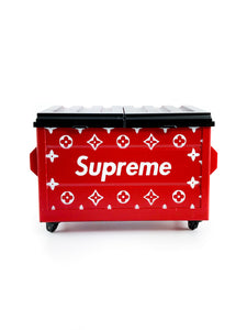 Dab Dumpster - LV Supreme Red Richy Rich