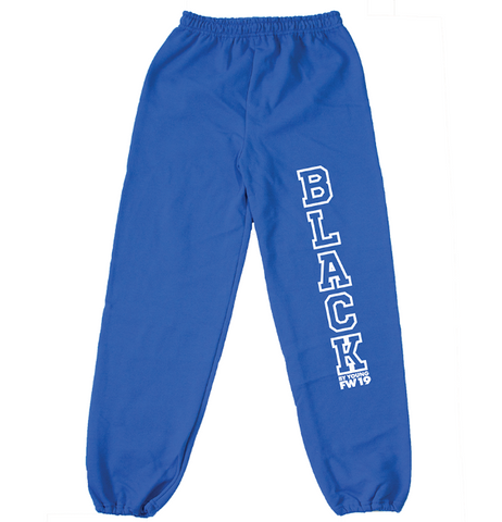 BBYFW19/BLACK UNIVERSITY SWEATS - blackbyyoung