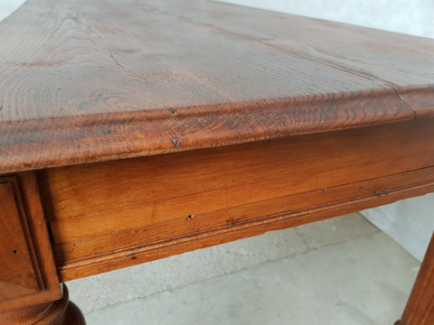 Late 19th Century Antique Louis Philippe Style Period French Conference Dining Table