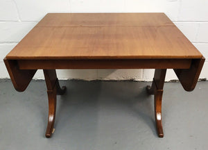 Vintage Mid-Century Danish Teak Dining Table