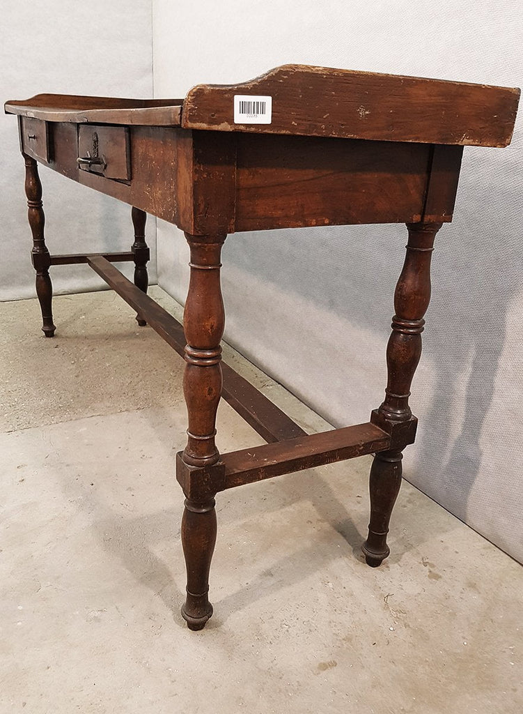 Rare 18 century Antique French Foyer Side Table with Drawers