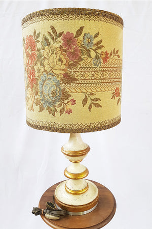 Antique French Lighting Desk Lamps Bed Lamps Needlepoint Lampshade