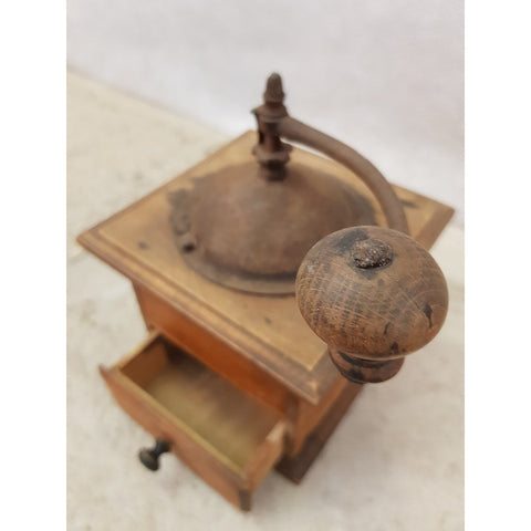 Antique French Coffee Grinder