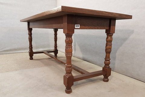 Vintage Pine H-stretcher Small Dining Table