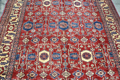 Persian Village Rug Floral and Medallion Motifs
